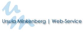 Ursula Minkenberg | Web-Service